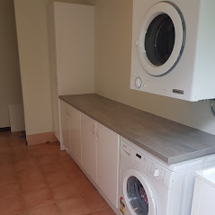 Laundry Cabinetry Install and Bench-top